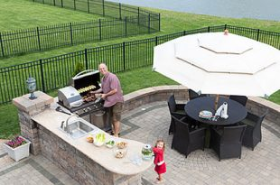 Outdoorkueche 310x205 - Die Outdoor-Küche: Schluss mit dem Einweg-Grill