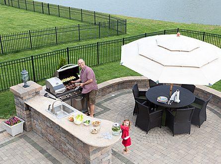 Outdoor Küche Auf Rädern : Die outdoor küche schluss mit dem einweg grill gaertnern