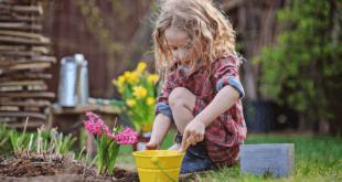 Kind spielt im Garten 310x165 - Glückliche Kinder im eigenen Garten