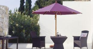 Holzschirm 310x165 - Sonnenschirme – sie bieten Schutz und Schatten