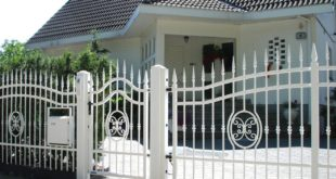 Schmiedezaun 310x165 - Das Gartentor – ein dekorativer Schutz fürs Grundstück