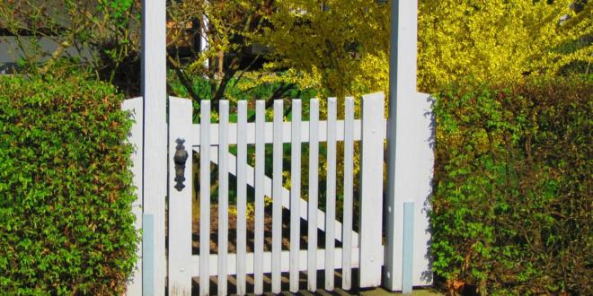 Gartentor 660x330 - Gartentore - darauf gilt es zu achten