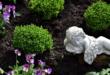Grabbepflanzung 110x75 - Grabbepflanzung – pflegeleichte Friedhofspflanzen erleichtern die Arbeit